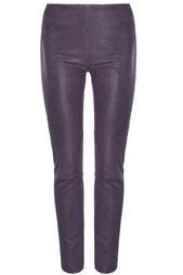 Кожаные леггинсы MiH Jeans