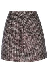 Юбка из искусственной шерсти Marc Jacobs