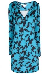 Шелковое платье Reina L/S Vintage Diane von Furstenberg