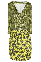 Шелковое платье Nollie Diane von Furstenberg