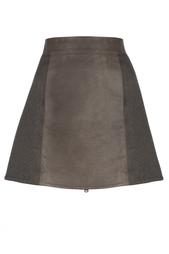 Кожаная юбка Kaufmanfranco