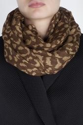 Шарф из вискозы Modal Leopard Diane von Furstenberg