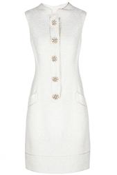 Шерстяное платье Oscar de la Renta