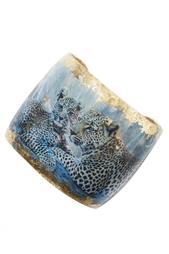 Браслет из латуни и кристаллов Evocateur