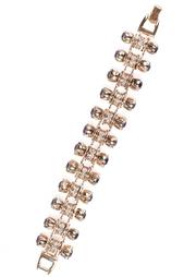 Металлический браслет с кристаллами Mawi