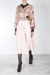 Шерстяная юбка Roksanda