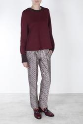 Шелковые брюки Oscar de la Renta