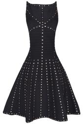Платье из вискозы Tamar Hervé Léger