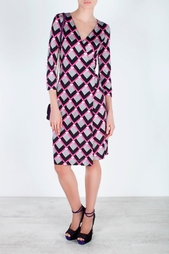Шелковое платье New Julian Two Diane von Furstenberg