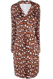 Шелковое платье New Jeanne Two Silk Jersey Diane von Furstenberg