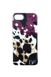 Чехол для iPhone 5 Cheetah Splash Purple Diane von Furstenberg