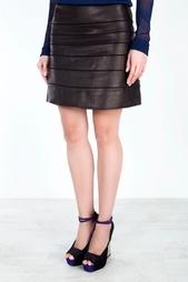 Кожаная юбка Beverly Diane von Furstenberg