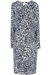 Хлопковое платье 80е Yves Saint Laurent Vintage