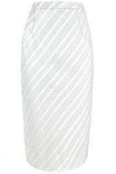 Костюм из серебристой парчи 60е Nina Ricci Vintage
