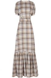 Шерстяное платье A LA Russe