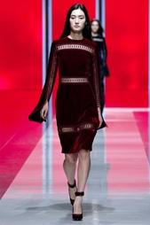 Бархатное платье Christopher Kane