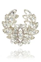 Брошь с кристаллами (60-е) Christian Dior Vintage