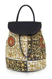 Рюкзак из хлопка (80-е) Gianni Versace Vintage