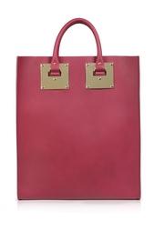Кожаная сумка Sophie Hulme