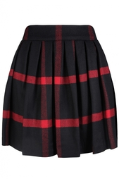 Шерстяная юбка Alice + Olivia