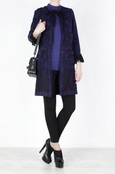 Шерстяное пальто Anna Sui Vintage
