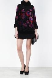 Бархатное платье Anna Sui Vintage