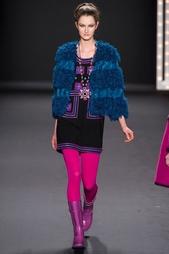 Жакет из искусственной шерсти Anna Sui Vintage