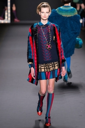 Шелковое  платье Anna Sui Vintage