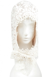 Худ из искусственного шелка Anna Sui Vintage