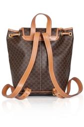 Кожаный рюкзак (90-е) Celine Vintage