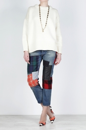 Хлопковые джинсы Junya Watanabe