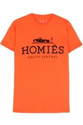 Хлопковая футболка Homies Brian Lichtenberg