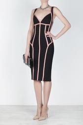 Платье из вискозы Gayl Hervé Léger