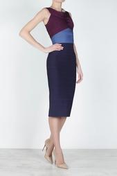 Платье из вискозы Sheena Hervé Léger