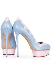 Кожаные туфли Josie Sundae Charlotte Olympia