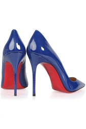 Кожаные туфли Bat Pump 100 Patent Christian Louboutin
