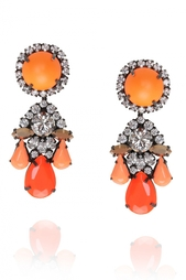 Серьги с кристаллами Marguerite Shourouk