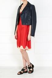 Шелковое платье-комбинация Sabbia Rosa