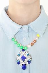 Колье с кристаллами Rosario Jumble Shourouk