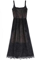 Платье из искусственного шелка Christopher Kane