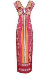 Платье из искусственного шелка Elisson Diane von Furstenberg