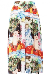 Юбка-брюки из шелка Tata Naka