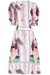 Хлопковое платье Tata Naka