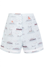 Хлопковые шорты Olympia Le Tan