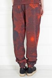 Хлопковые брюки Christopher Kane