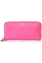 Кожаный кошелек Studded Leather Diane von Furstenberg