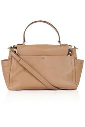 Кожаная сумка Courier Diane von Furstenberg