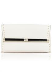 Кожаный клатч Envelope Diane von Furstenberg