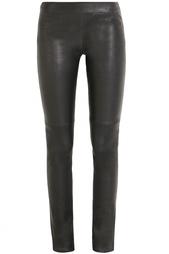 Кожаные брюки Kristen Diane von Furstenberg