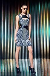 Платье из вискозы Franka Hervé Léger